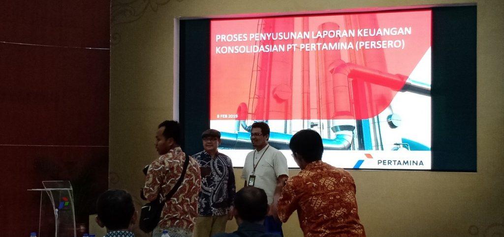 PT Pertamina Tbk di Jakarta 2