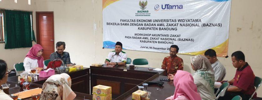 Pengabdian Kepada Masyarakat Akuntansi Zakat pada Baznas Kabupaten Bandung